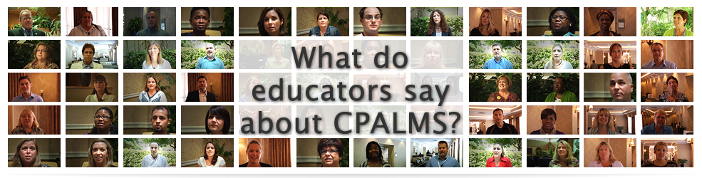 what do educators say about CPALMS?